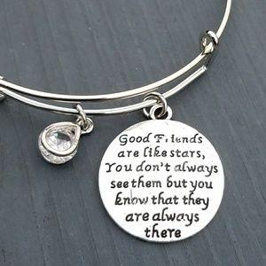 Jewelry - New good friends charm bracelet, friends jewelry